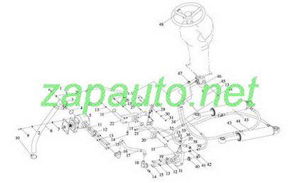 Изображение Цилиндр рулевой XG951H, XG953H