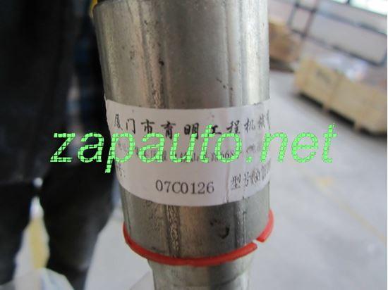 Изображение Шланг теплообменника кпп короткий XG951II, XG951III, XG953II, XG953III, XG955II, XG955III